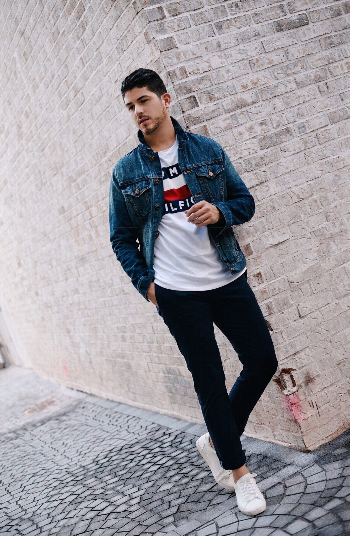 Another Way To Style Your Denim Jacket